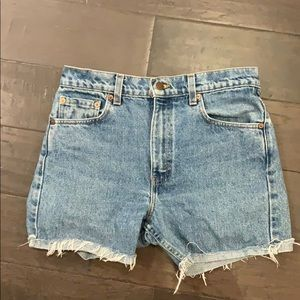 Levi's midi short urban outfitters 505 regular fit